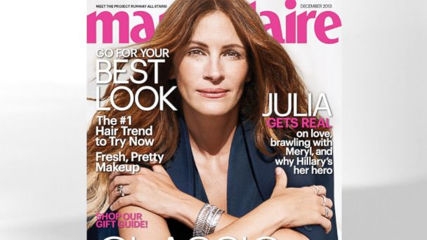 HT Julia Roberts marie Claire julia roberts1 ml 131111 16x9 608 Julia Roberts Talks About Being a Proud Mom, and Avoiding the Internet