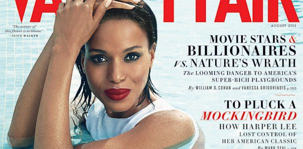 HT Kerry Washington Vanity Fair August cover jef 130702 33x16 608 Kerry Washington: White Women Want to Be Olivia Pope