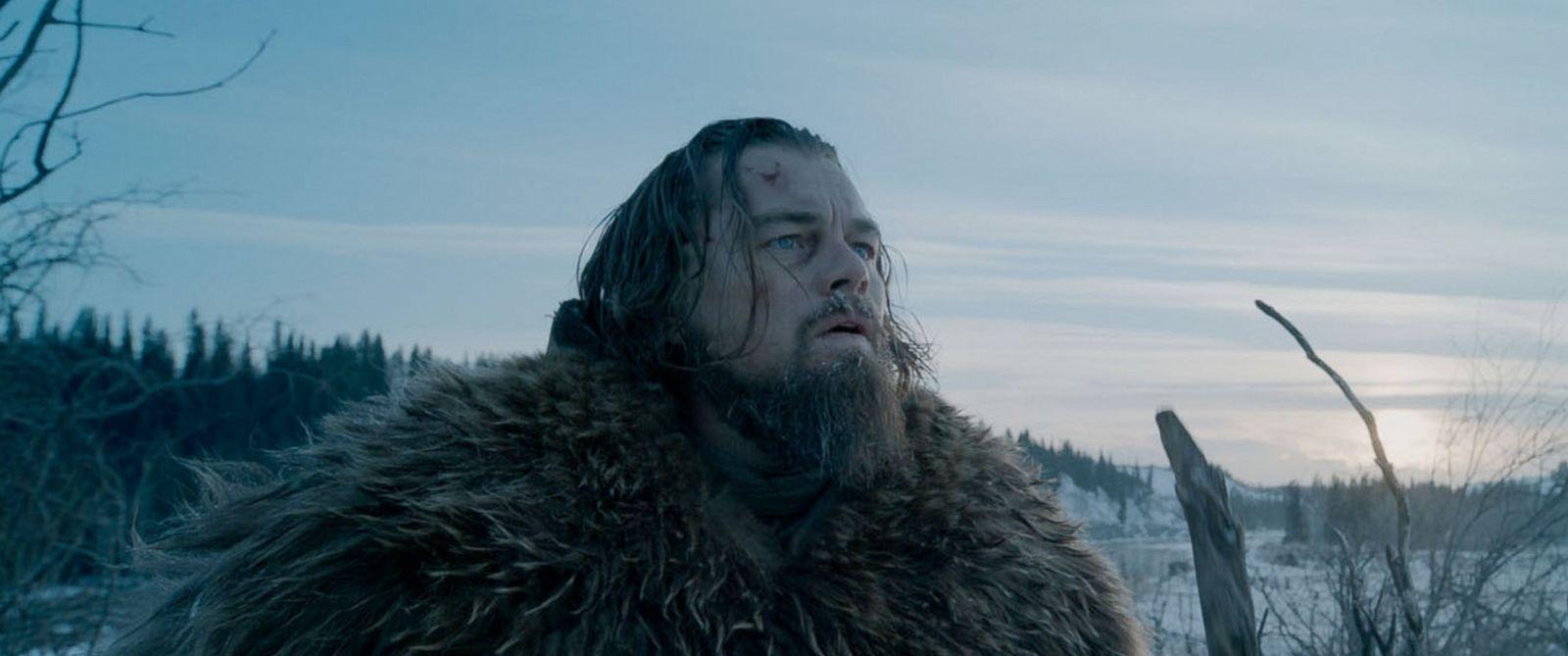 PHOTO: Leonardo Dicaprio in The Revenant.