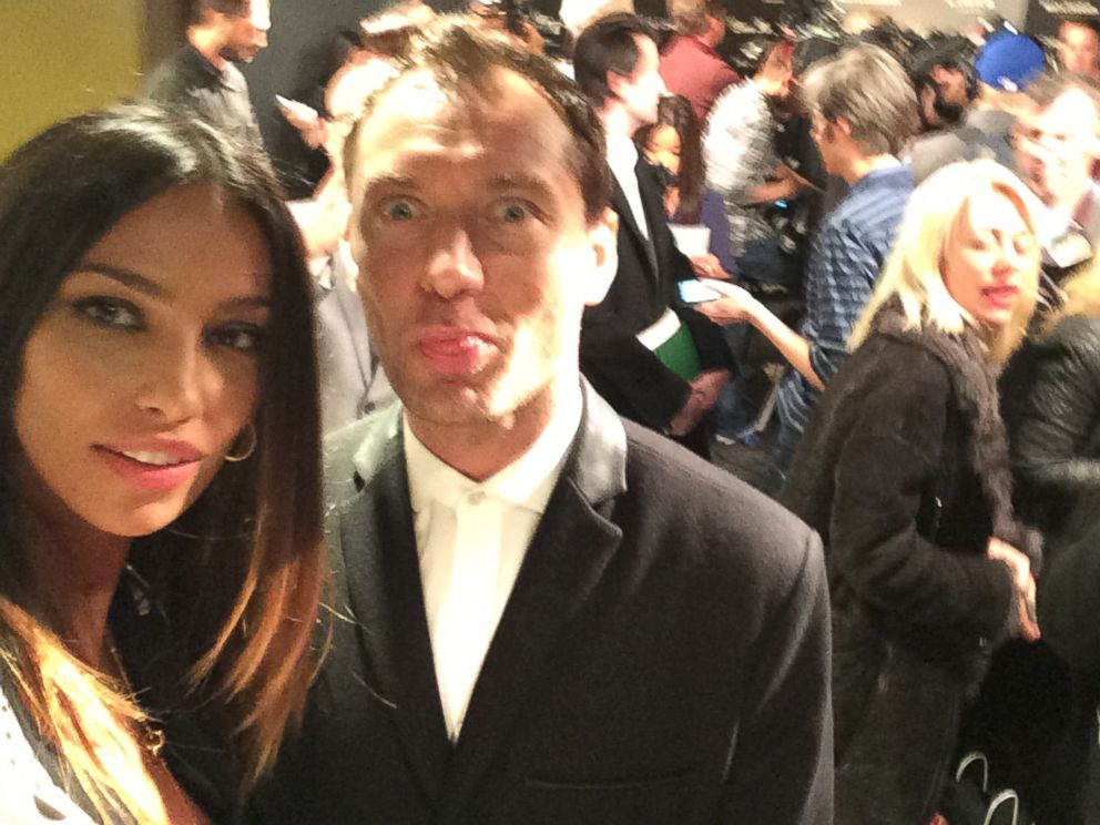 PHOTO: Jude is so fun. The Talented Mr. Ripley is one of my favorite films so to work with him was crazy!