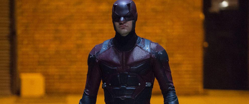 PHOTO:Charlie Cox as Matt Murdock in a scene from Marvels Daredevil.