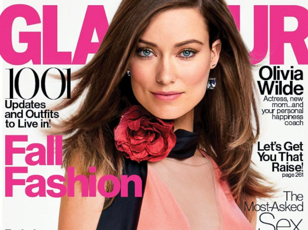 PHOTO: Olivia Wilde appears on the cover of Glamours September 2014 issue.