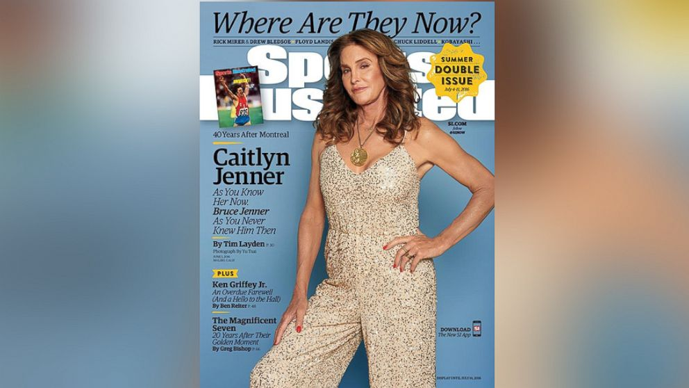 Caitlyn Jenner Appears on Sports Illustrated Cover 40 Years After Victory