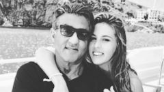 Sylvester Stallone Spends Times With His Daughter