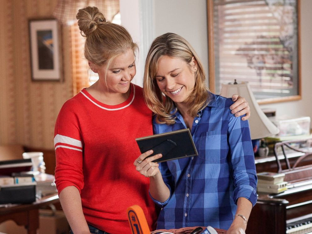 PHOTO: Amy Schumer and Brie Larson in Trainwreck.