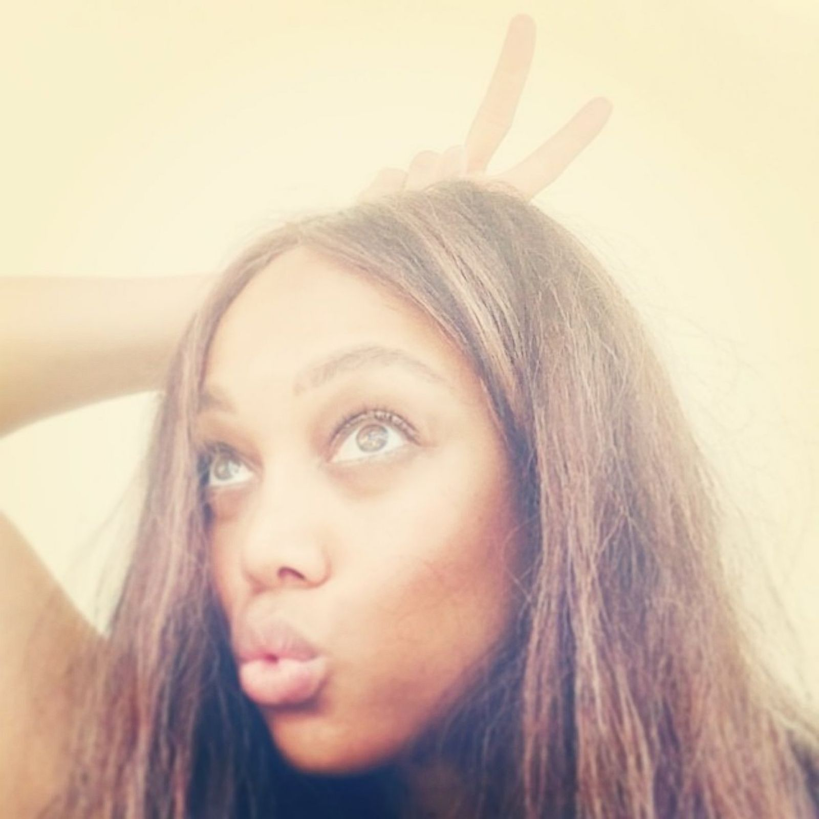 Tyra Banks Image: Tyra Banks Goes Makeup-Free Picture