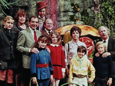 PHOTO: The cast of Willy Wonka and the Chocolate Factory, released in 1971.