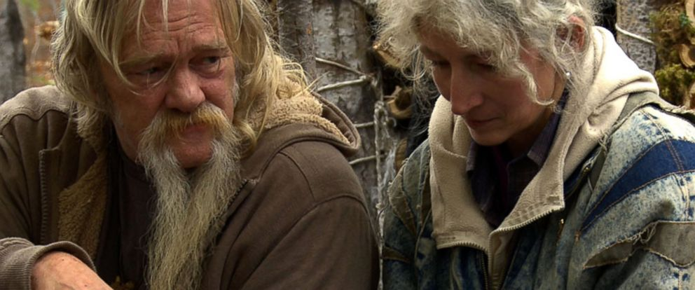 "PHOTO:Billy and Ami are pictured in a scene from ""Alaskan Bush People."""