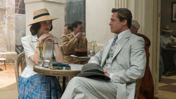 PHOTO: Brad Pitt plays Max Vatan and Marion Cotillard plays Marianne Beausejour in