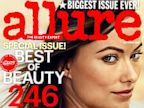 PHOTO: Olivia Wilde on the cover of the October 2013 issue of Allure magazine.