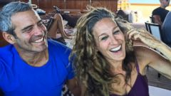 Andy Cohen Shares a Selfie With Sarah Jessica Parker in Spain
