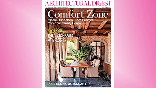 PHOTO: Gisele Bundchen Architectural Digest