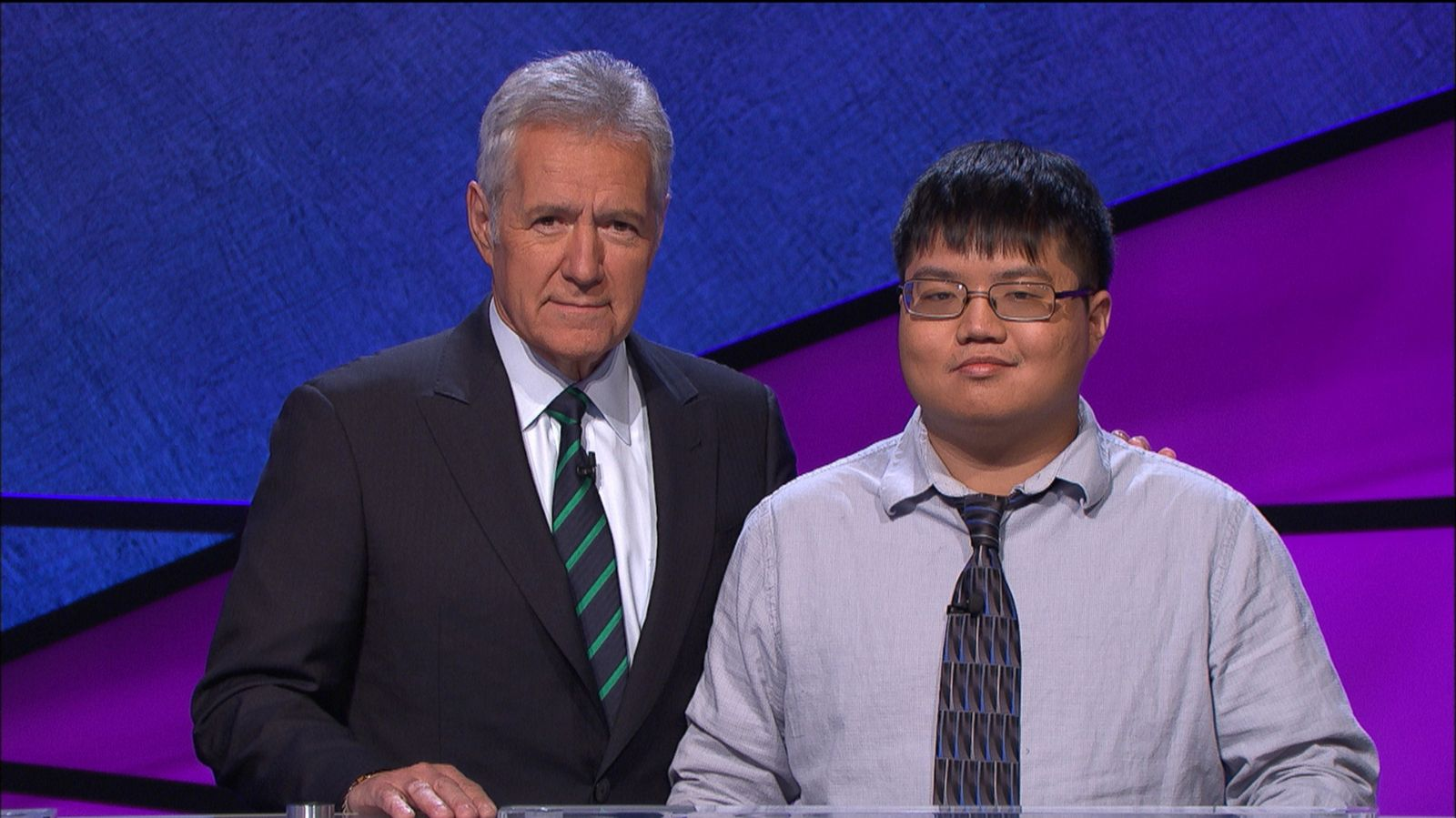 See Alex Trebek Play Jeopardy
