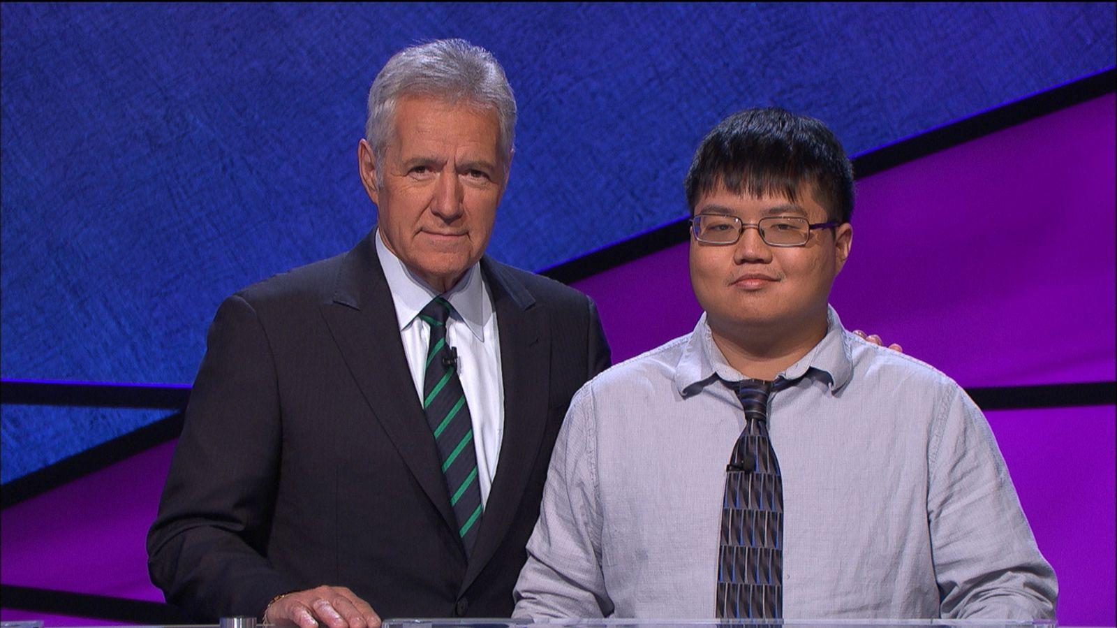 See Alex Trebek Play Jeopardy