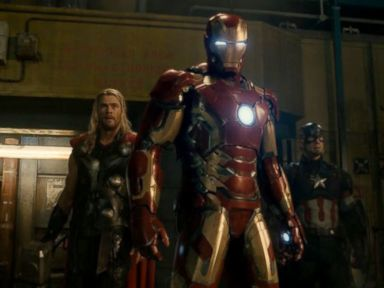 PHOTO: Scene from the movie Avengers: Age of Ultron.