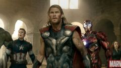 "PHOTO: Scene from the movie ""Avengers: Age of Ultron."""