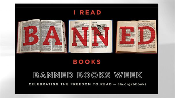 "PHOTO: ""Banned Books Week"" celebrates the freedom to read: Sept. 22-28, 2013."