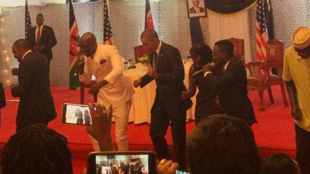 SAUTI SOL Offers Gratitude To OBAMA And UHURU For The State Dinner Dance!