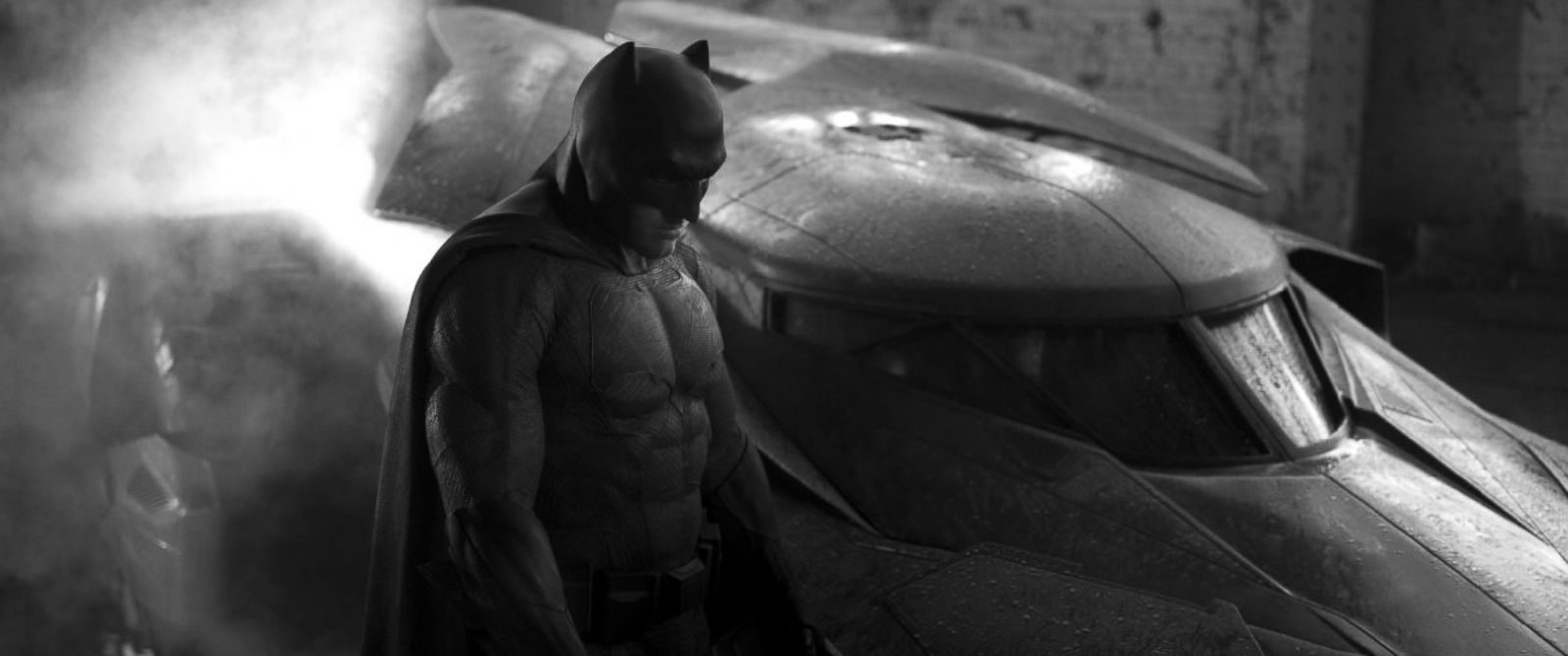 "PHOTO: Ben Affleck appears as Batman in a photo from ""Batman v Superman: Dawn of Justice."""