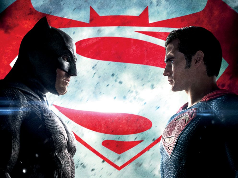 PHOTO: A promotion image for Batman v Superman is seen here.