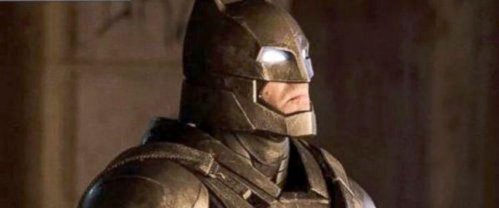 """PHOTO: Ben Affleck is as Batman in """"Batman v Superman: Dawn of Justice."""""""