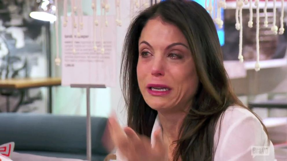 Bethenny Frankel Breaks Down While Talking About Her