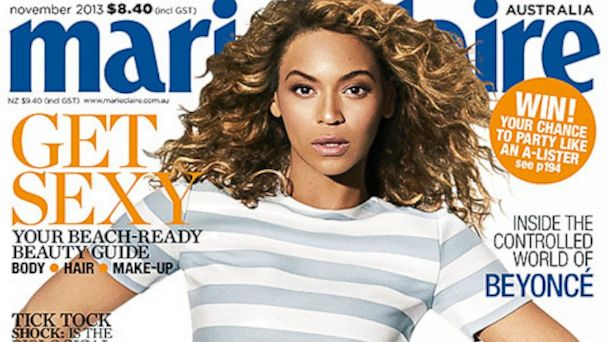 HT beyonce marie claire tk 131003 16x9 608 Beyoncé Communicated with Blue Ivy During Labor