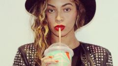 Beyonce Gears Up for Her Album Release with a Slurpee