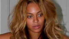 Beyonce Rocks a Tiny White Bikini