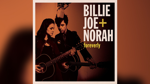 "PHOTO: Billie Joe + Norah's ""Foreverly"" album."