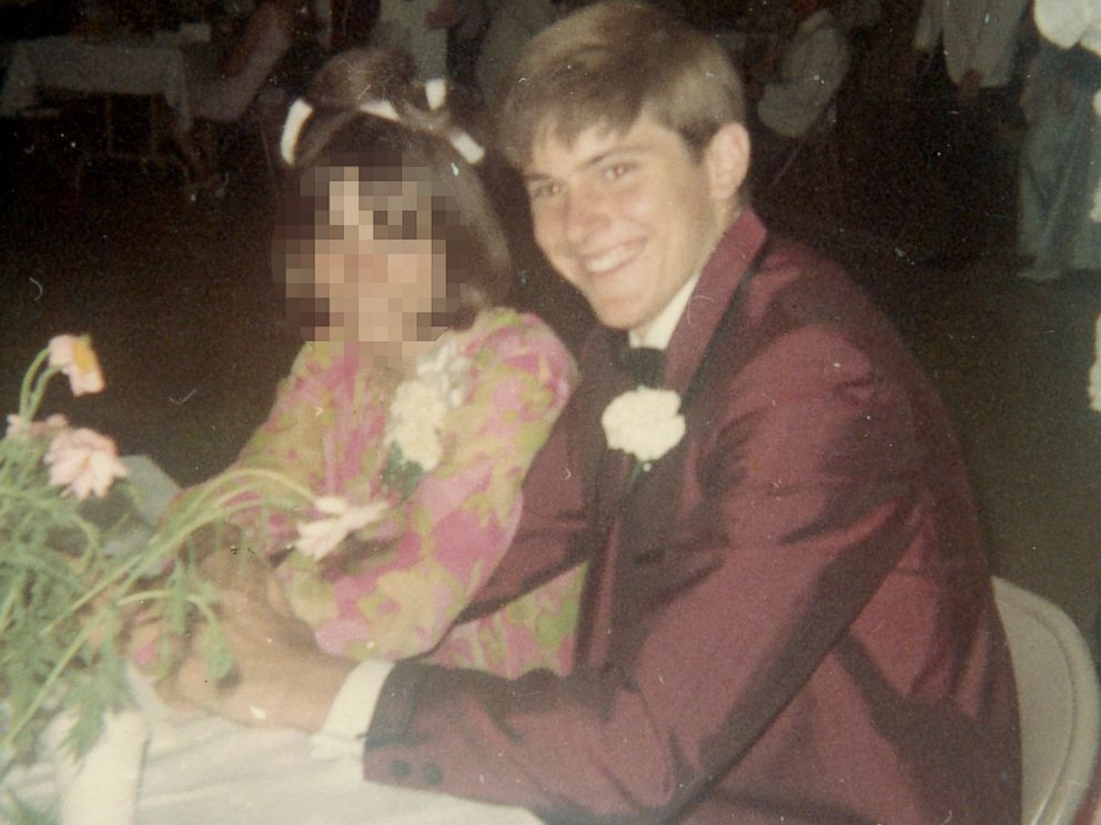 bruce jenner is shown here at a high school dance in this undated