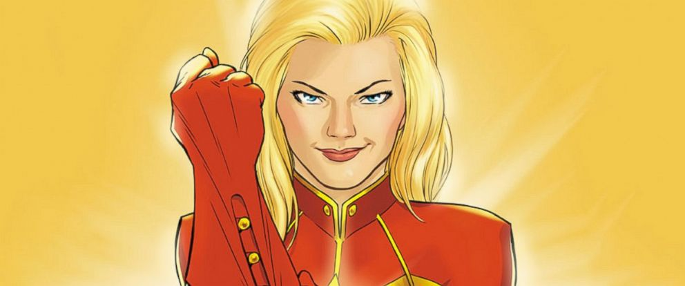 PHOTO: The current Captain Marvel, Carol Danvers, is the first female character to embody the Captain Marvel role.
