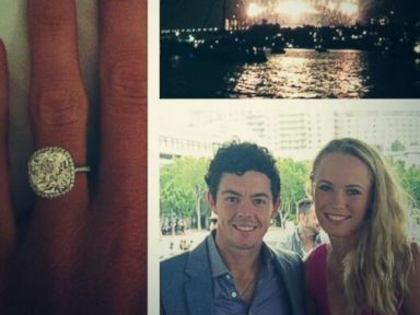 PHOTO: Caroline Wozniacki posted this photo to her Twitter account, Dec. 31, 2013.