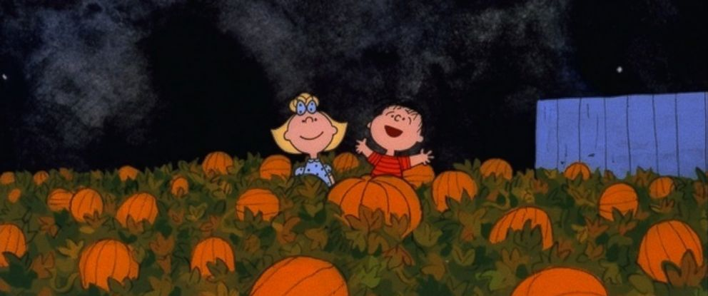 photo a scene from its the great pumpkin charlie brown is - Charlie Brown Halloween Abc