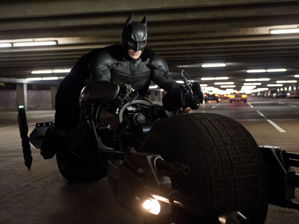 PHOTO: Christian Bale is seen here as Batman in The Dark Knight Rises.