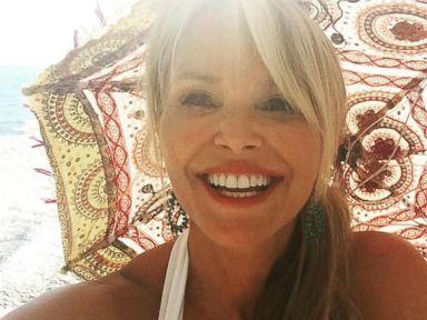 Christie Brinkley Says Arrivederci to Italy