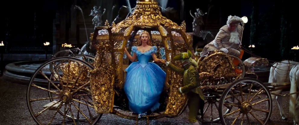 PHOTO: Lily James is Cinderella in the official trailer for Disneys Cinderella.