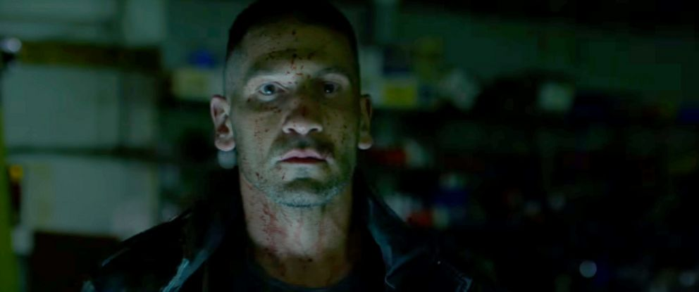 "PHOTO: Jon Bernthal as Frank Castle in a scene from the second season of ""Daredevil."""