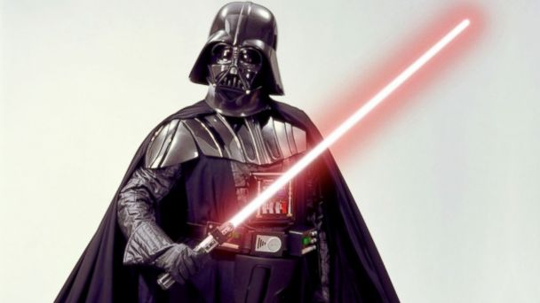 PHOTO: Star Wars villan Darth Vader.