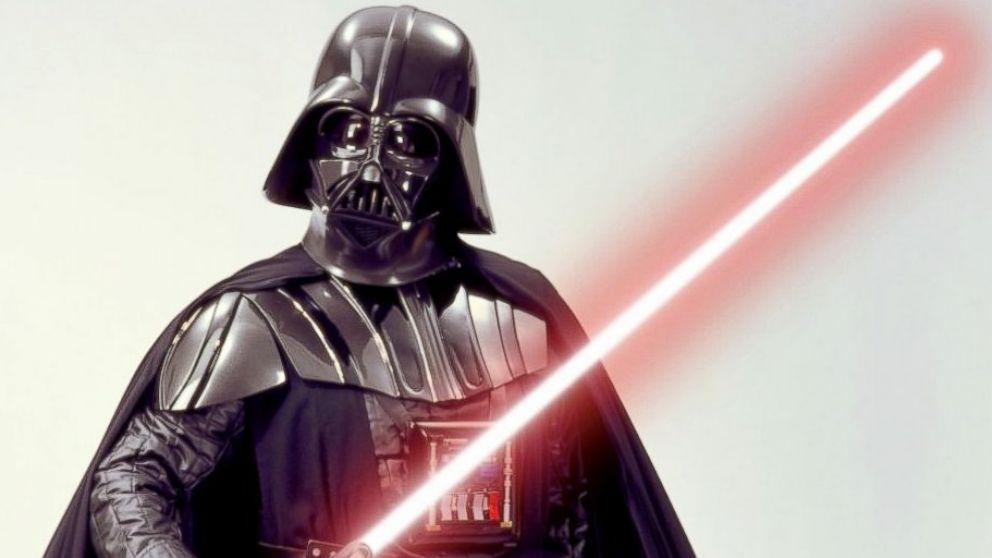 PHOTO: Star Wars villan Darth Vader.