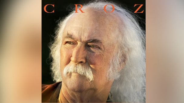 PHOTO: David Crosbys new album, Croz.