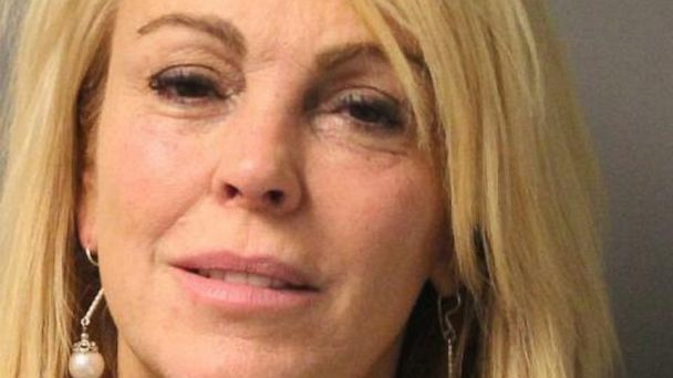 PHOTO: State Police arrest Dina Lohan for DWI and speeding, Sept. 12, 2013.