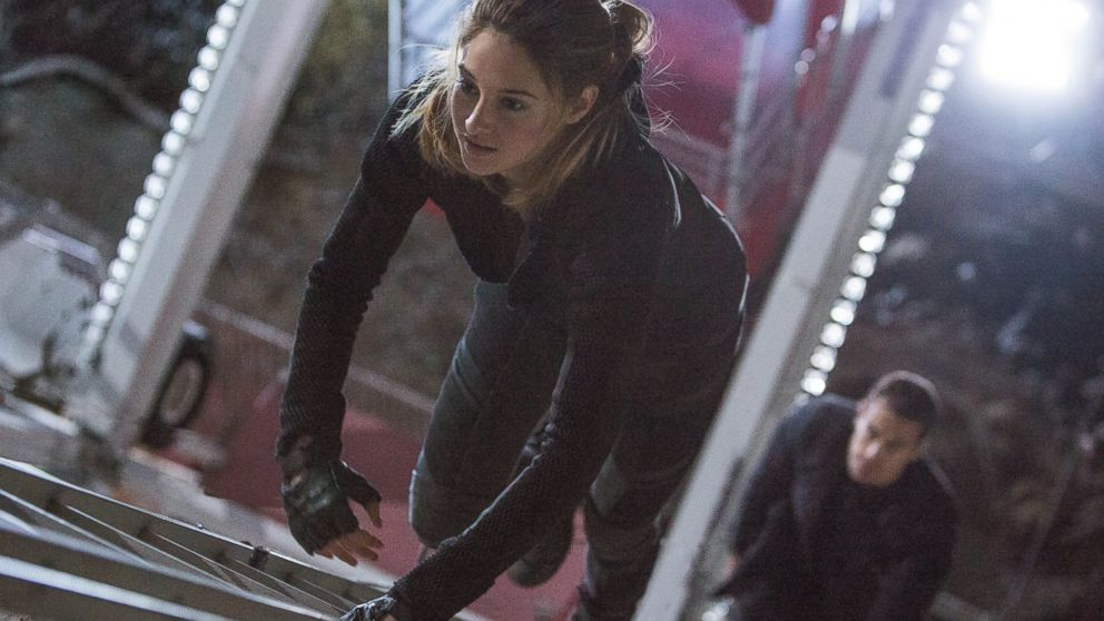 """Shailene Woodley in a scene from """"Divergent."""""""