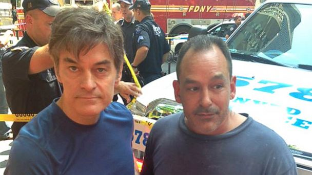 HT dr oz cab crash lpl 130821 16x9 608 Plumber, Dr. Oz Help Woman Struck by Taxi