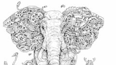Artist Creates Extreme Coloring Books