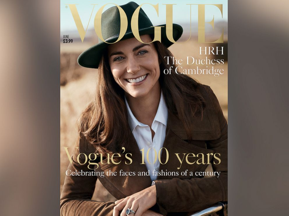 PHOTO: British Vogue has released their stunning June 2016 cover featuring HRH The Duchess of Cambridge.