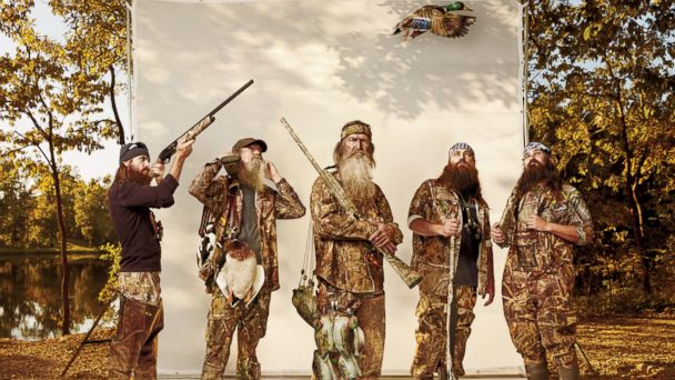 HT duck dynasty gq sk 131218 16x9 608 Duck Dynasty Puts Star Phil Robertson on Hiatus After Anti Gay Comments