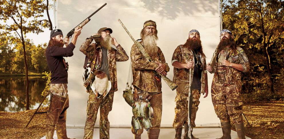 PHOTO: The men of Duck Dynasty are featured in the January 2014 issue of GQ.