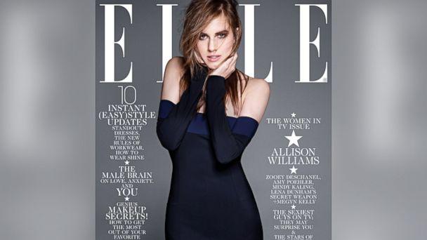 HT elle magazine allison williams sk 140108 16x9 608 Mindy Kaling Defends Elle Cover
