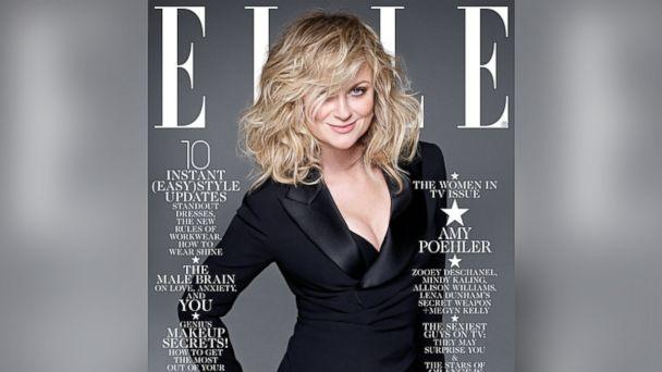 HT elle magazine amy poehler sk 140108 16x9 608 Mindy Kaling Defends Elle Cover